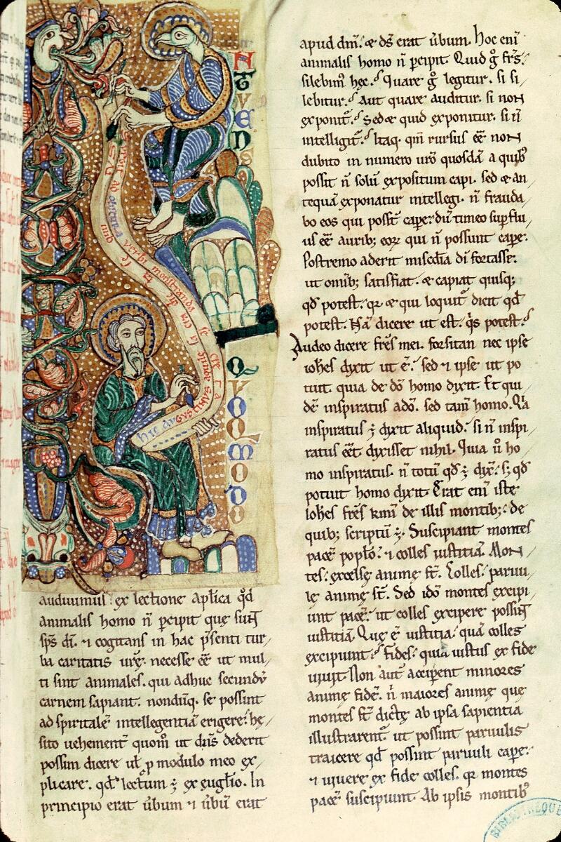 Charleville-Mézières, Bibl. mun., ms. 0246 B, t. I, f. 003 - vue 1