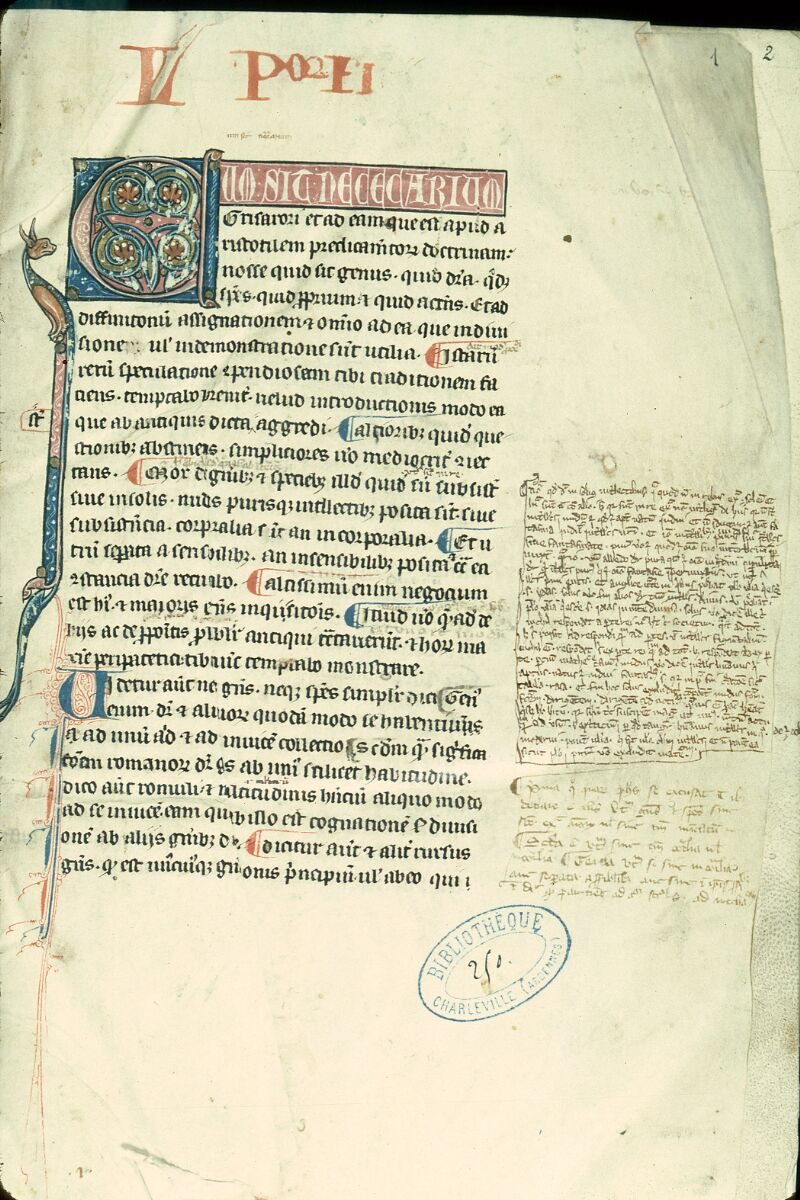 Charleville-Mézières, Bibl. mun., ms. 0250, f. 001