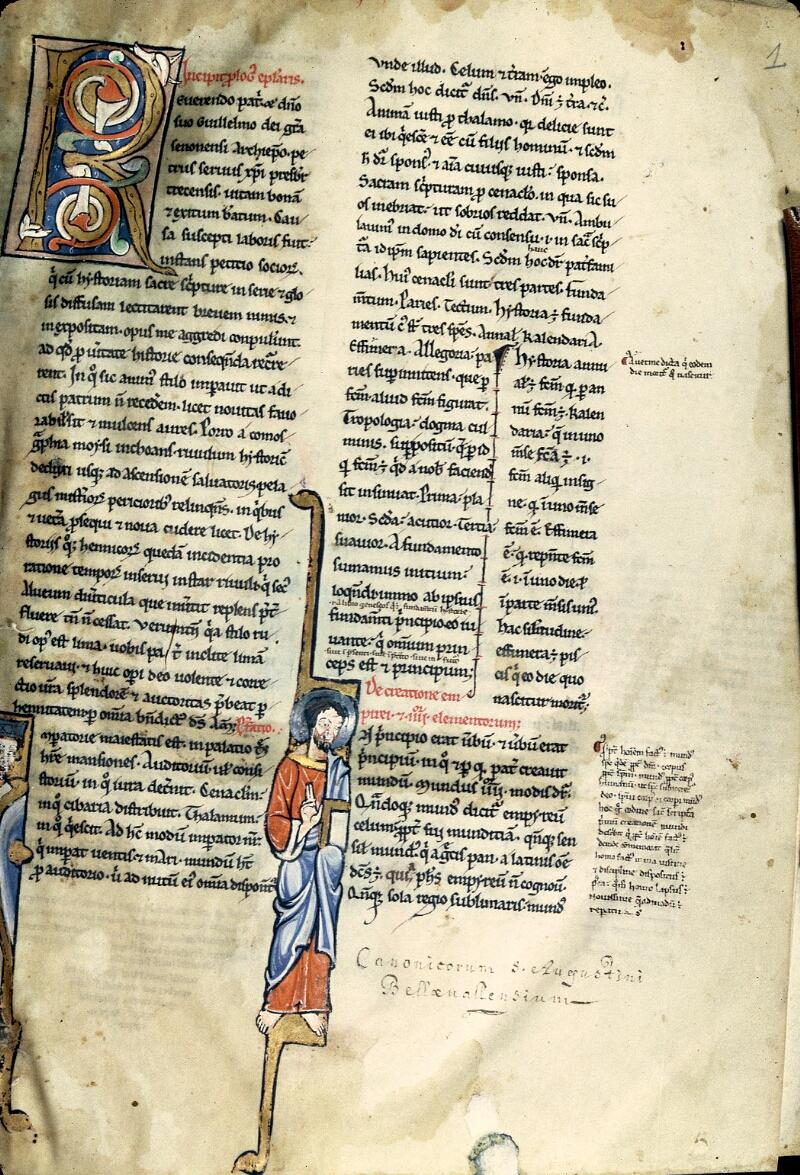 Charleville-Mézières, Bibl. mun., ms. 0261, f. 001 - vue 1