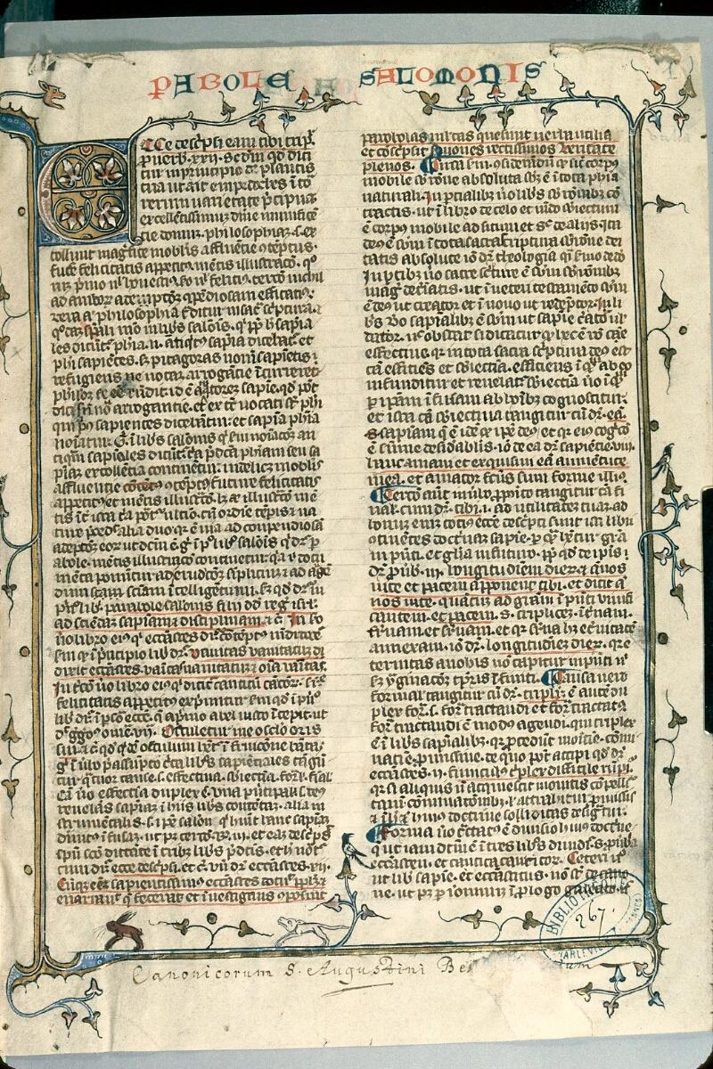 Charleville-Mézières, Bibl. mun., ms. 0267, t. V, f. 001