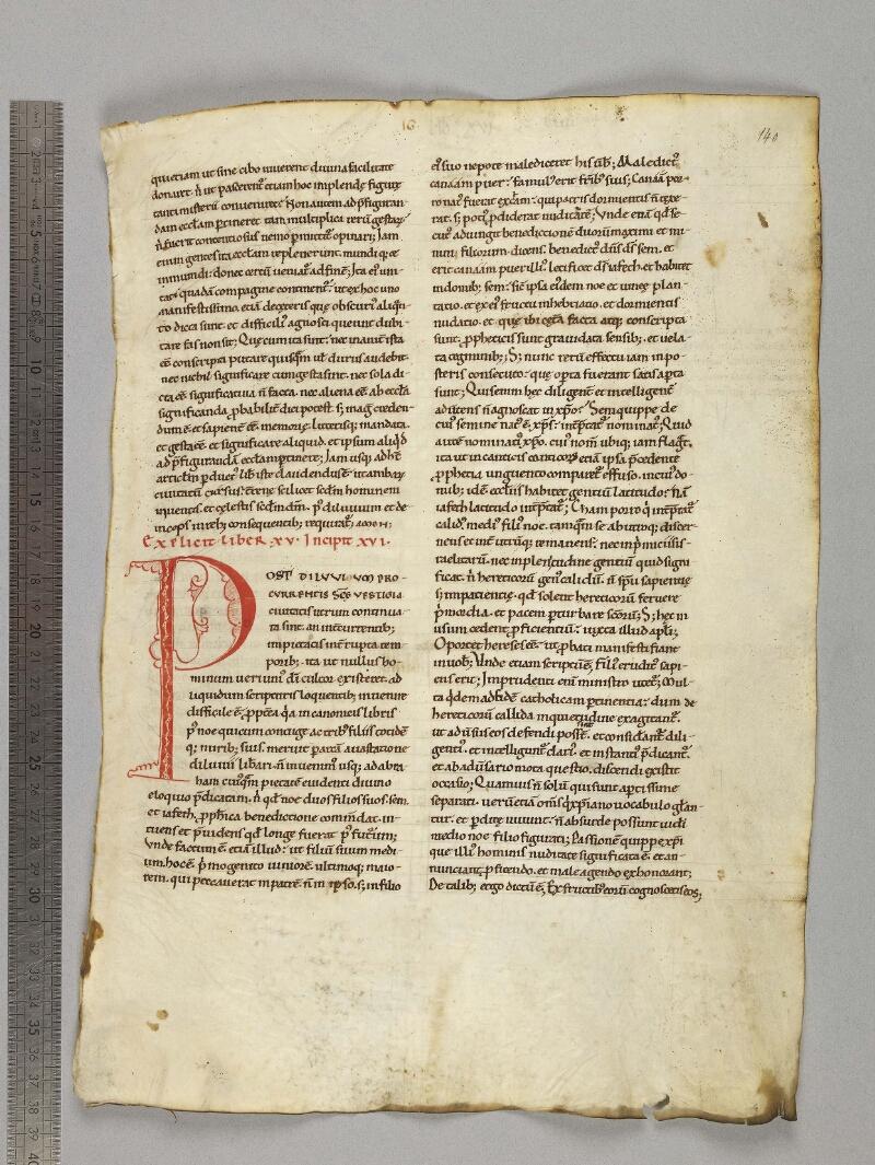 CHARTRES, Bibliothèque municipale, 0136 (0135), f. 140