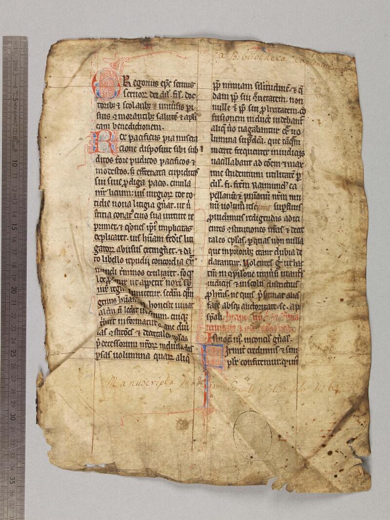 CHARTRES, Bibliothèque municipale, 0149 (0207), f. 001