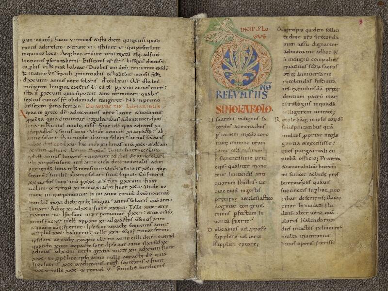 CHARTRES, Bibliothèque municipale, nouv. acq. 004, f. 008v - 009