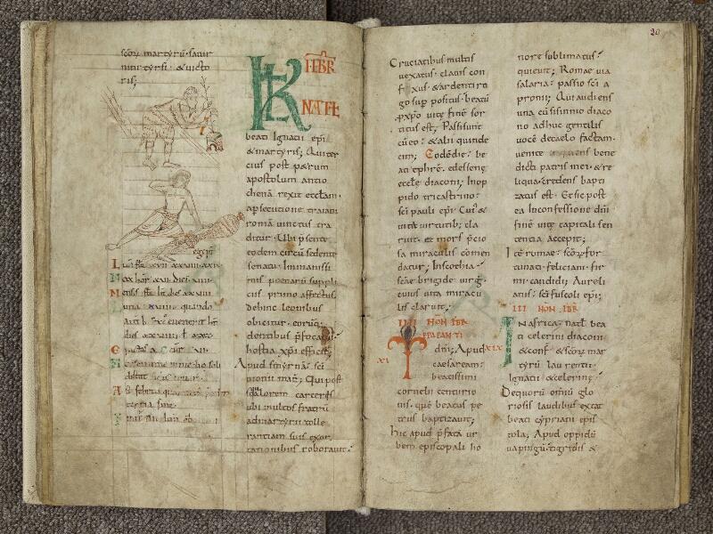 CHARTRES, Bibliothèque municipale, nouv. acq. 004, f. 019v - 020