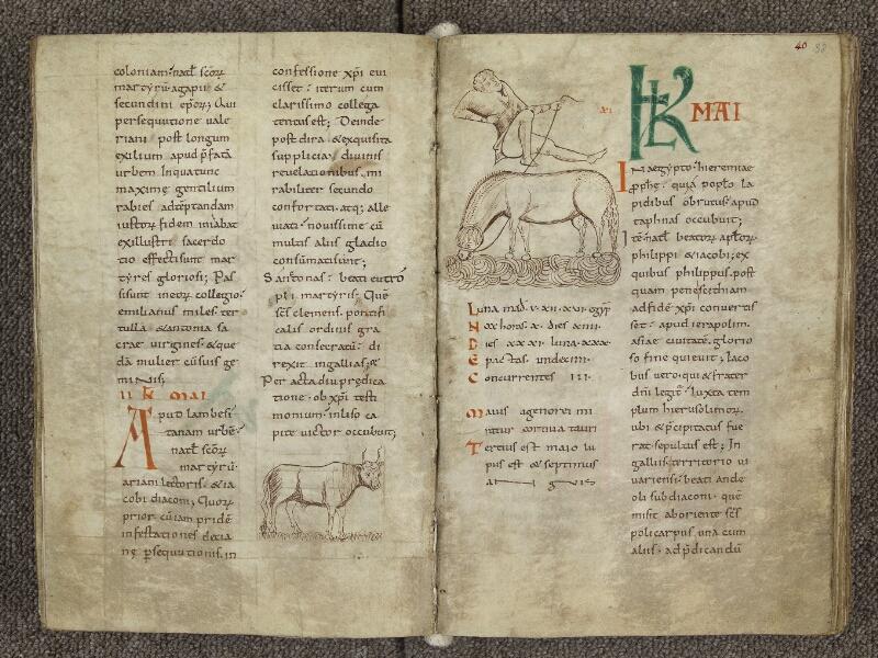 CHARTRES, Bibliothèque municipale, nouv. acq. 004, f. 039v - 040