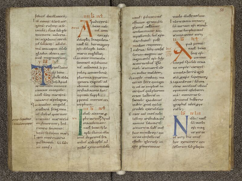 CHARTRES, Bibliothèque municipale, nouv. acq. 004, f. 057v - 058