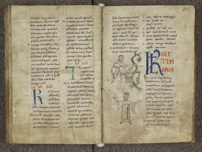 CHARTRES, Bibliothèque municipale, nouv. acq. 004, f. 069v - 070