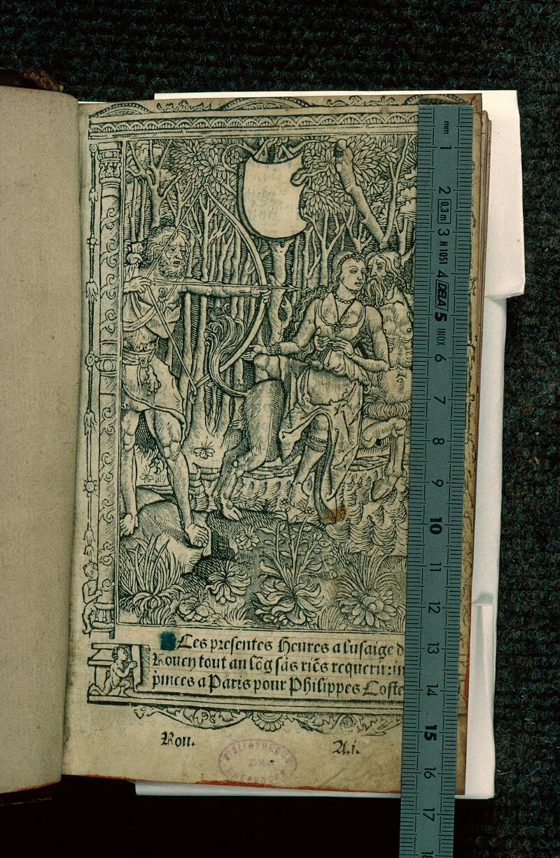 Cherbourg, Bibl. mun., impr. 156 in 8°, f. 001 - vue 1