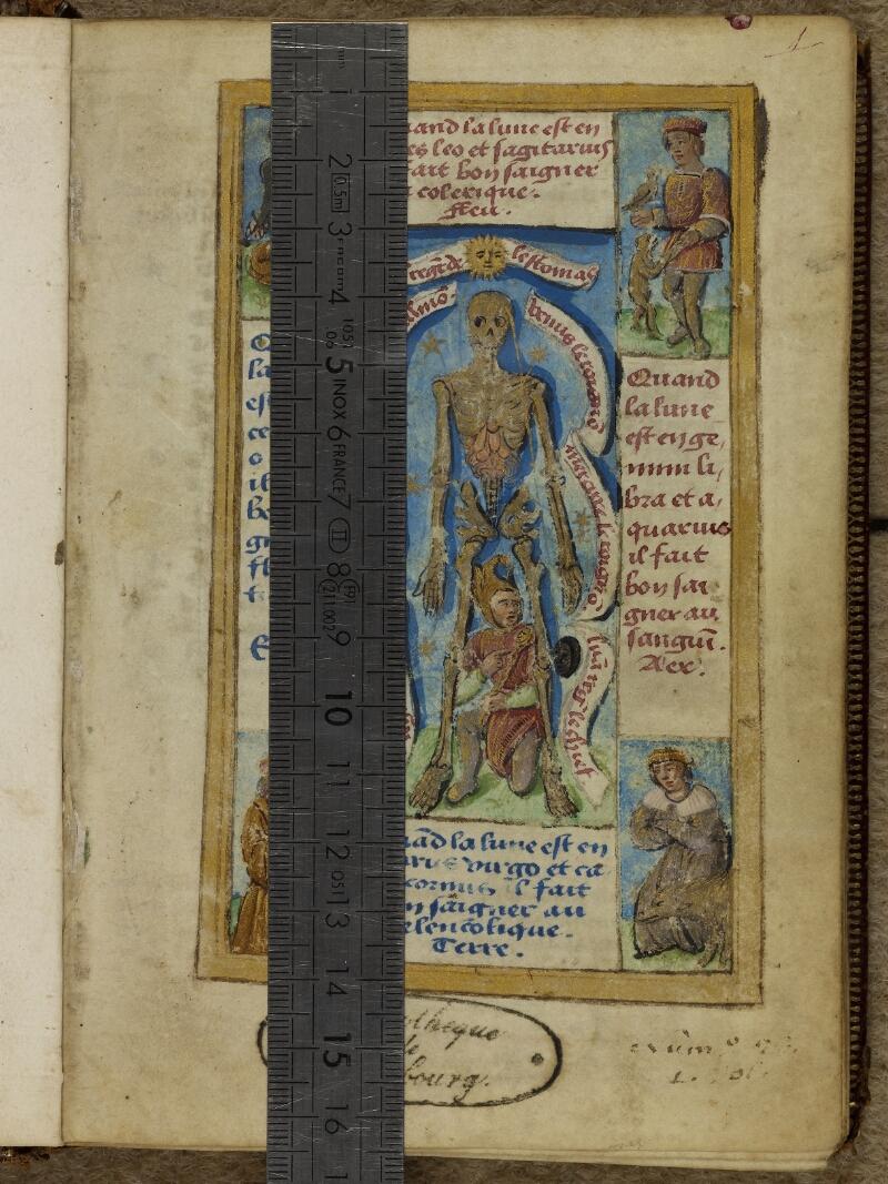 Cherbourg, Bibl. mun., ms. 0006, f. 001 - vue 1