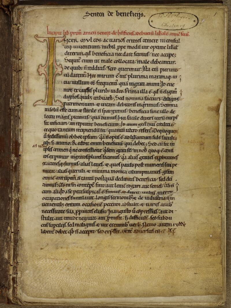 Cherbourg, Bibl. mun., ms. 0021, f. 001 - vue 2