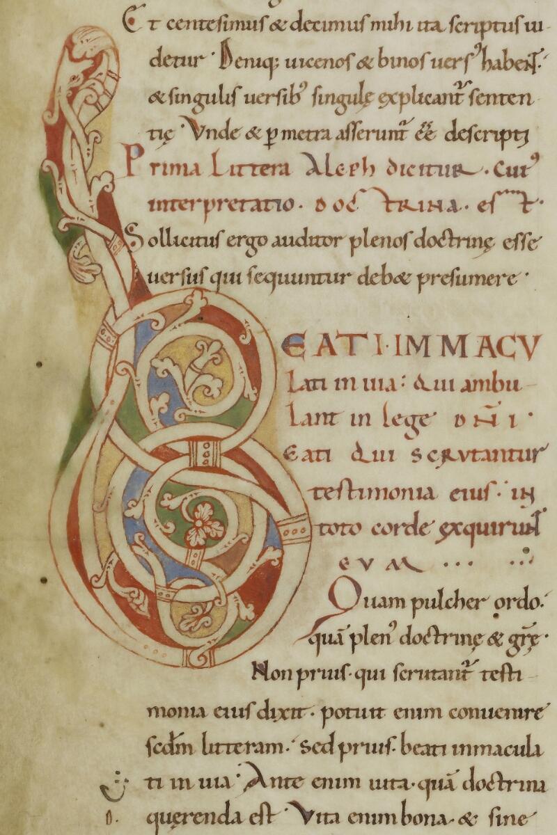 Cherbourg, Bibl. mun., ms. 0002, f. 001v - vue 2