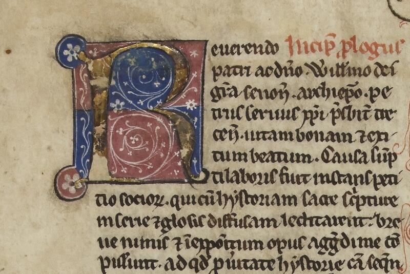 Cherbourg, Bibl. mun., ms. 0004, f. 001 - vue 3