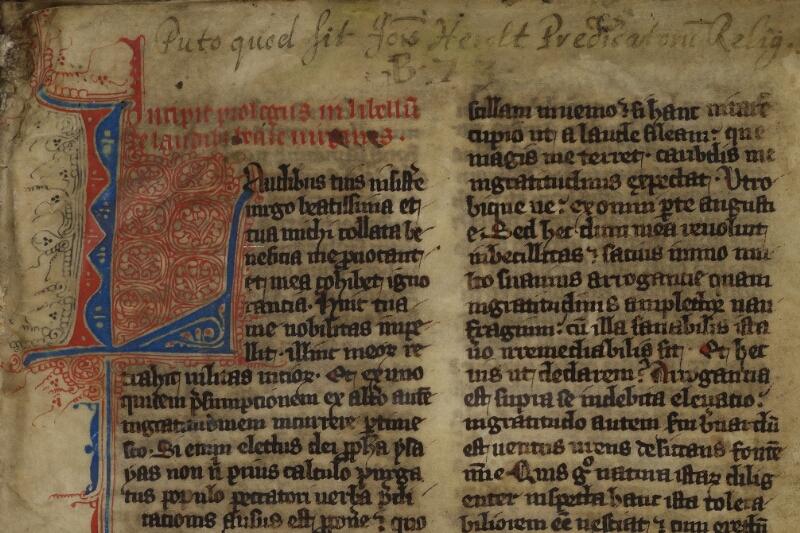 Cherbourg, Bibl. mun., ms. 0014, f. 002 - vue 3