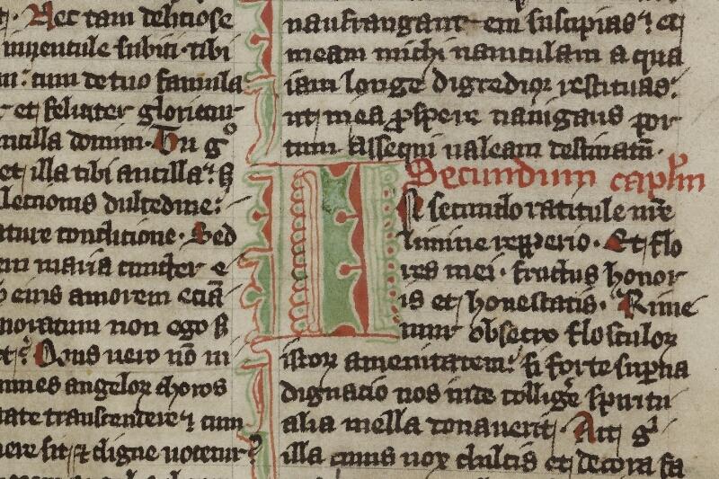Cherbourg, Bibl. mun., ms. 0014, f. 006v - vue 2