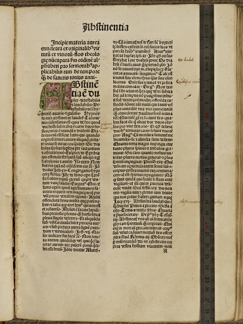 Colmar, Bibl. mun., inc. IV 8489, f. A1 - vue 1