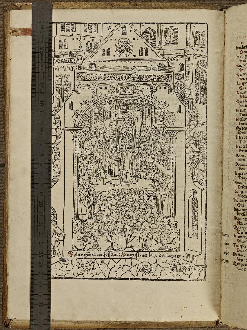 Colmar, Bibl. mun., inc. IV 8601, A f. a1v - vue 1