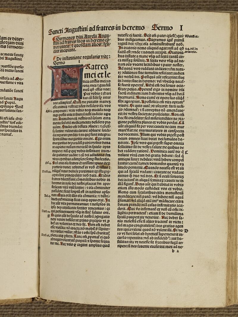 Colmar, Bibl. mun., inc. IV 8601, A f. b2