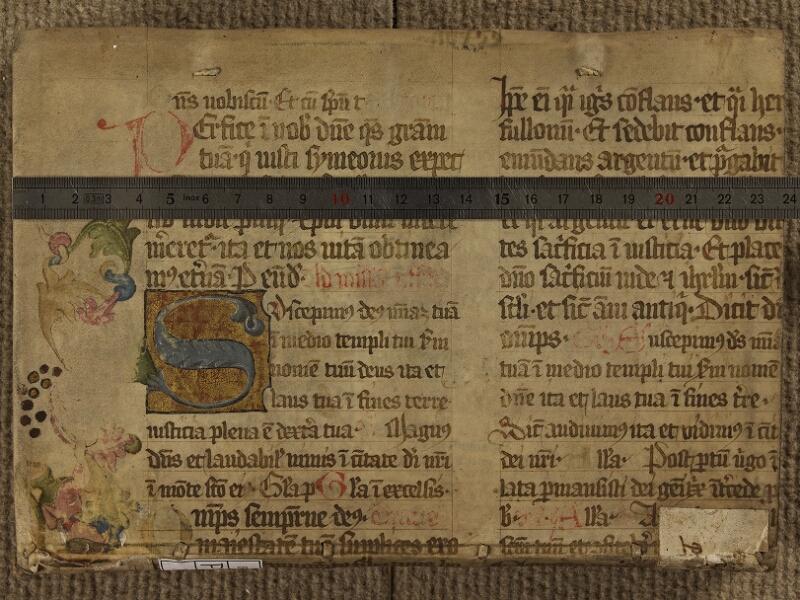 Colmar, Bibl. mun., impr. VII 7726, plat inf. - vue 1