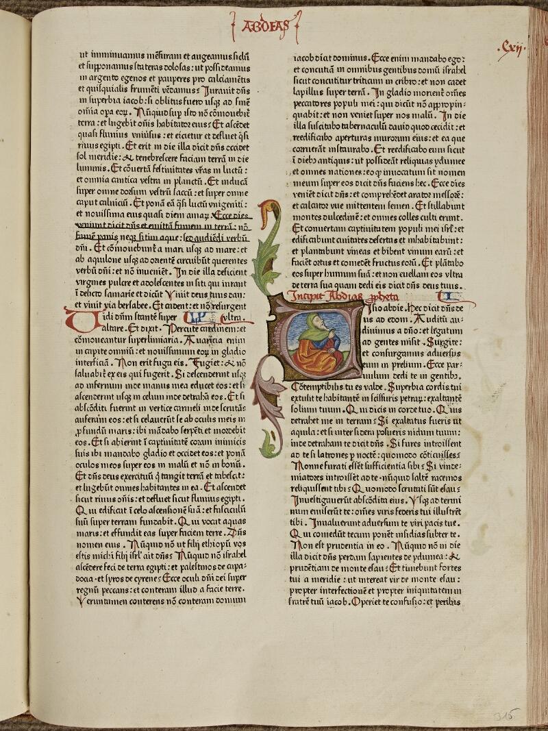 Colmar, Bibl. mun., inc. VIII 028, f. 112 - vue 1