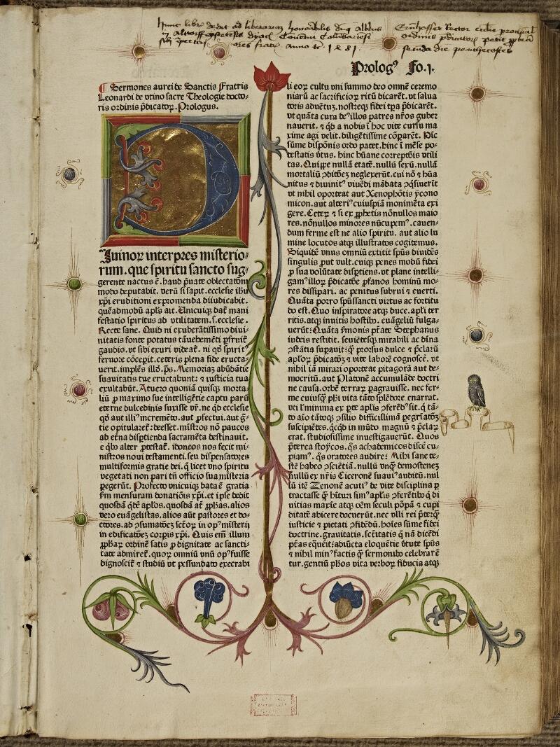 Colmar, Bibl. mun., inc. CG 11442, f. 001 - vue 2