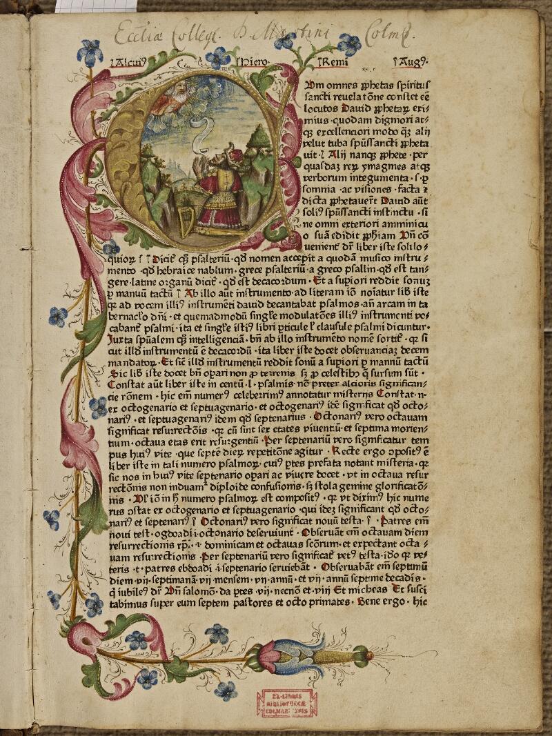 Colmar, Bibl. mun., inc. CG 11629,  - vue 2