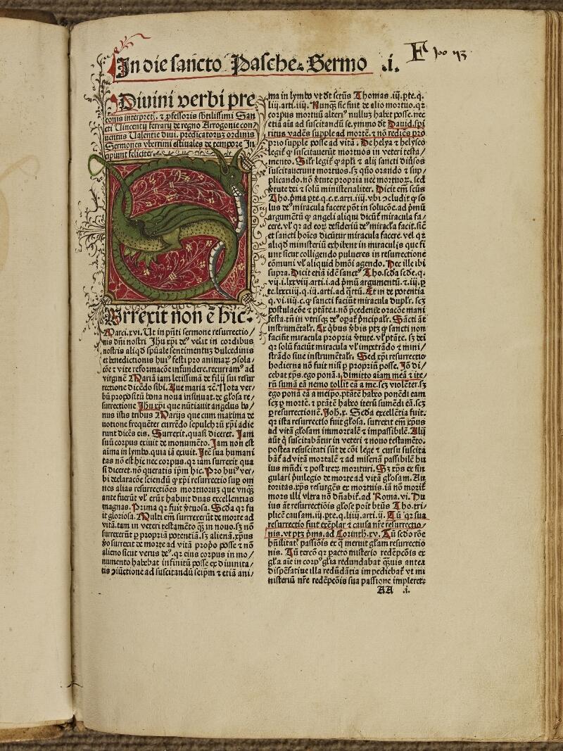 Colmar, Bibl. mun., inc. G 0109, f. AA1 - vue 2