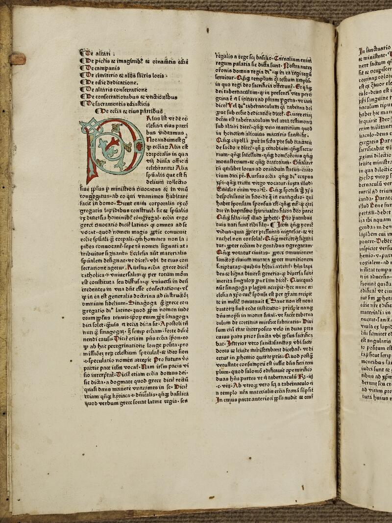 Colmar, Bibl. mun., inc. G 0274, f. 001v - vue 2