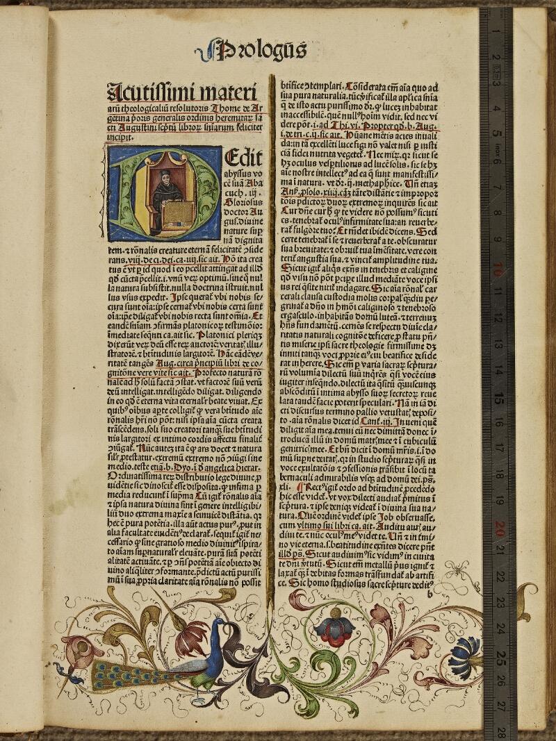 Colmar, Bibl. mun., inc. G 0876, t. 1, f. 0b1 - vue 1