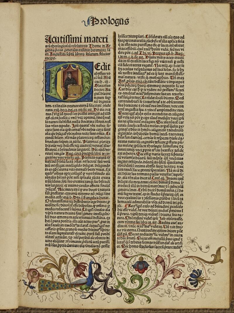 Colmar, Bibl. mun., inc. G 0876, t. 1, f. 0b1 - vue 2