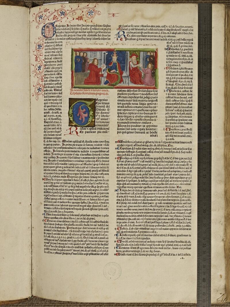 Colmar, Bibl. mun., inc. G 1210, f. a1 - vue 1