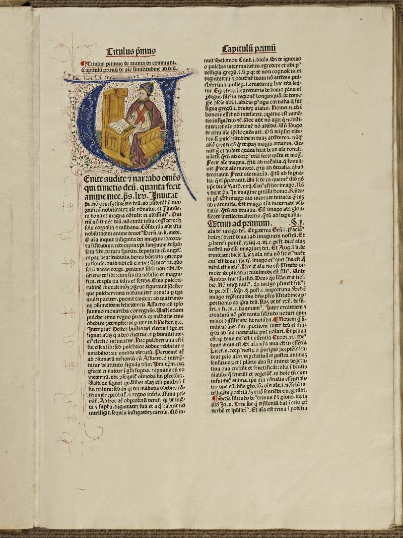 Colmar, Bibl. mun., inc. G 1289, t. 1, f. 003 - vue 1