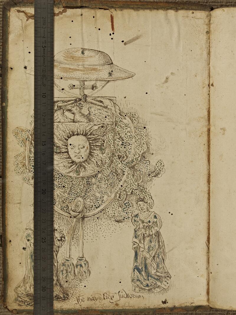 Colmar, Bibl. mun., inc. CPC 0345, t. 3, contre-plat sup. - vue 1