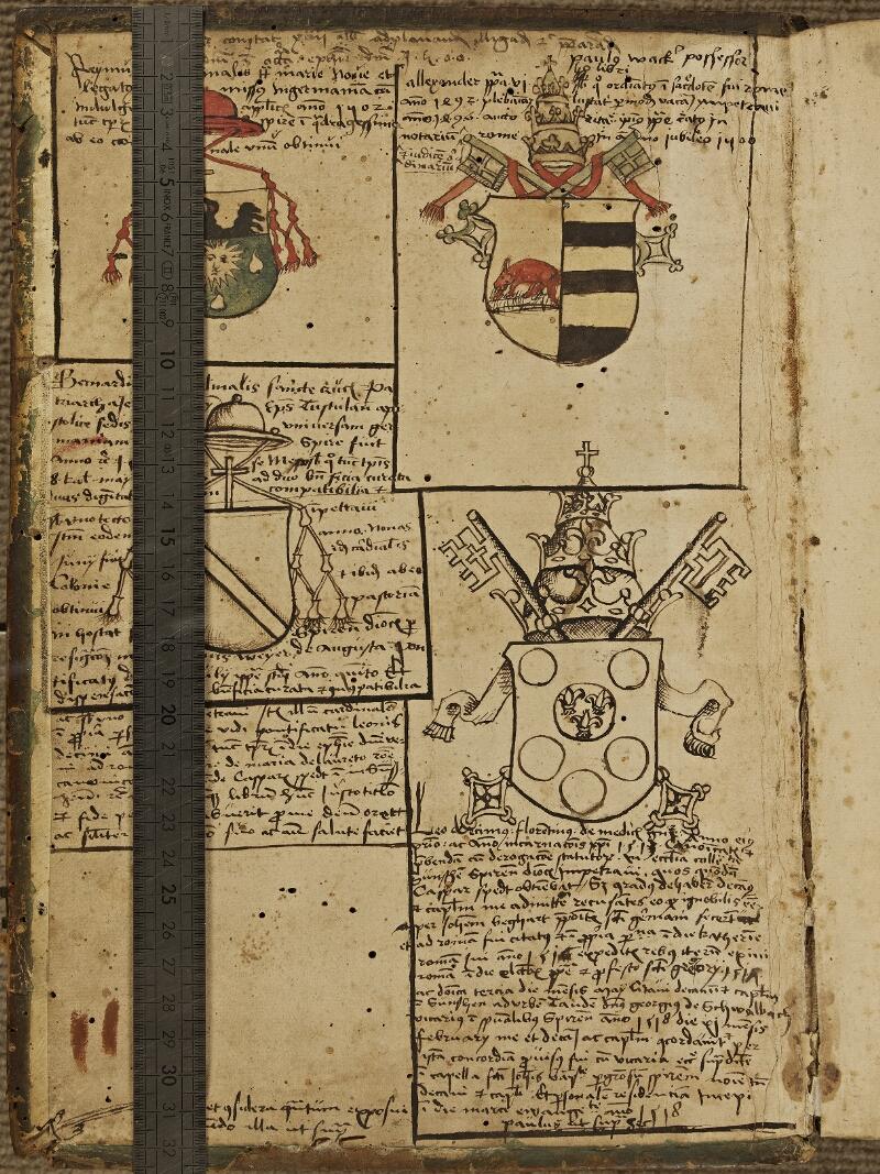 Colmar, Bibl. mun., inc. CPC 0345, t. 5, contre-plat sup. - vue 1