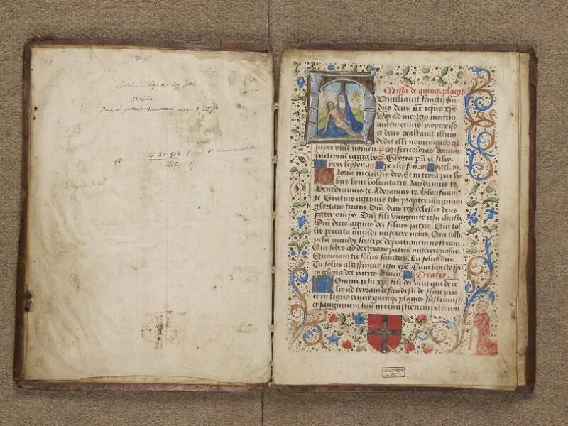 DIEPPE, Bibliothèque Municipale, 182, garde verso - f. 001