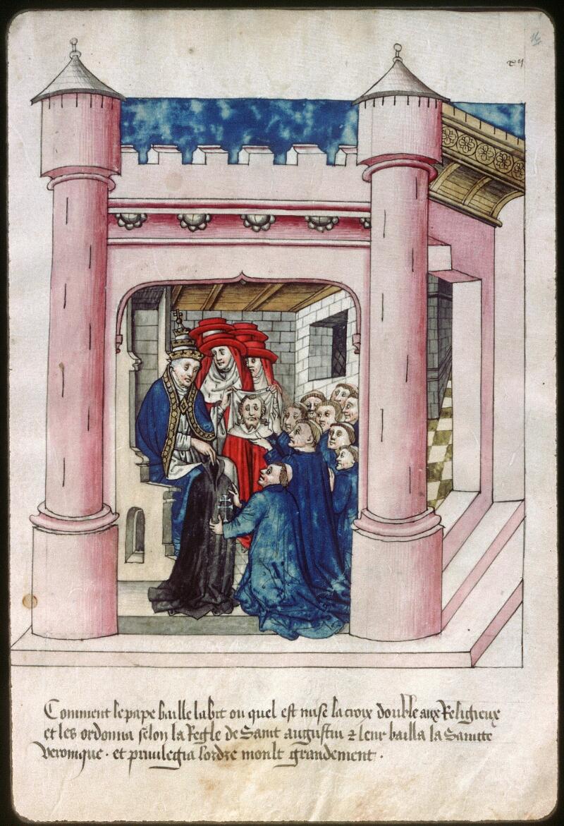 Dijon, Arch. hosp., A H 4, f. 016 - vue 1