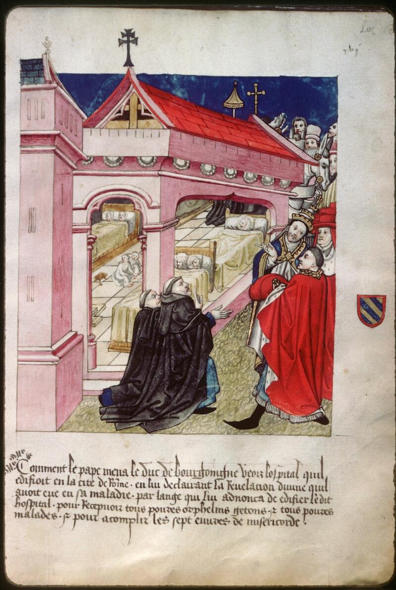 Dijon, Arch. hosp., A H 4, f. 020 - vue 1