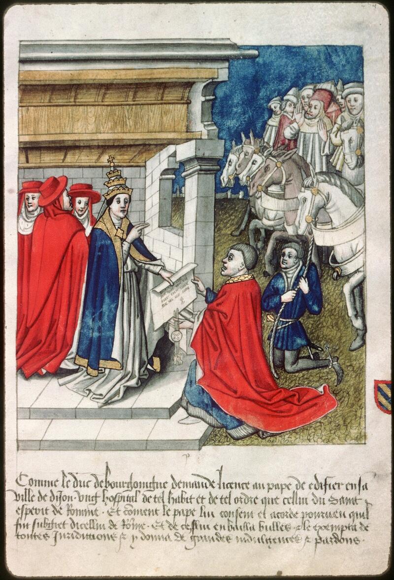 Dijon, Arch. hosp., A H 4, f. 021 - vue 1