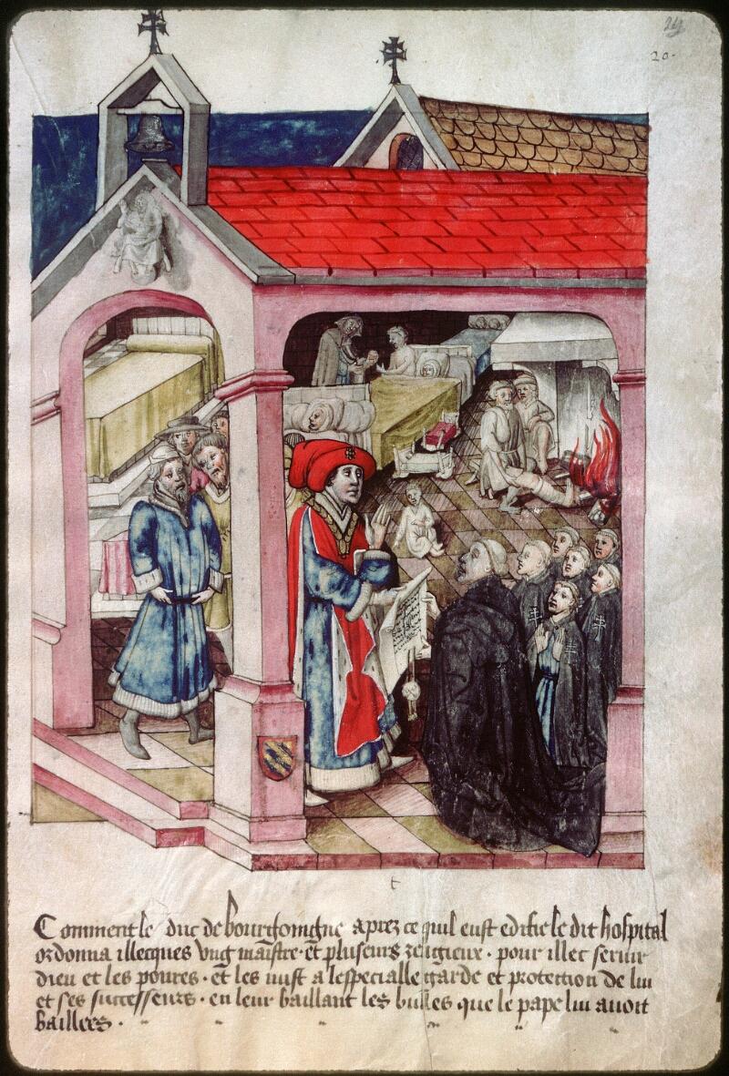 Dijon, Arch. hosp., A H 4, f. 023 - vue 2