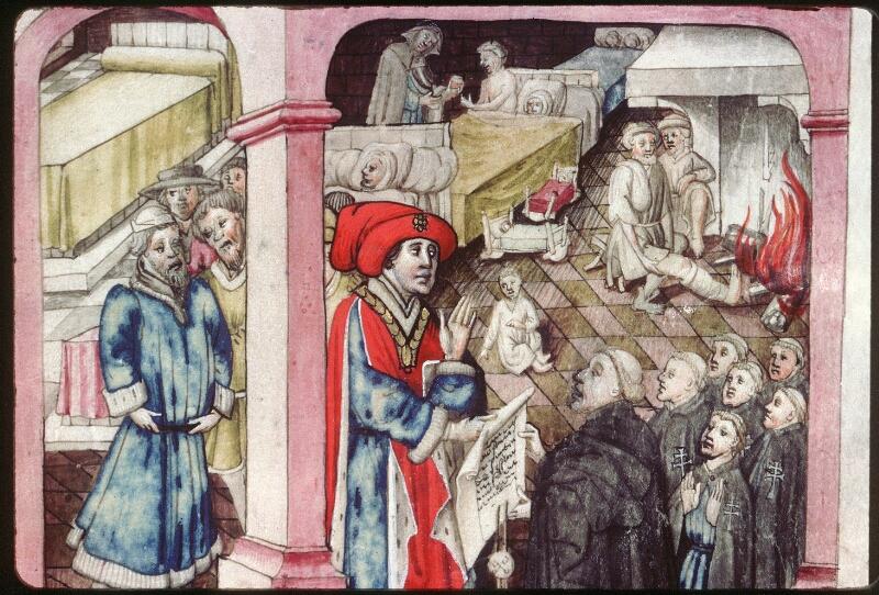 Dijon, Arch. hosp., A H 4, f. 024 - vue 1