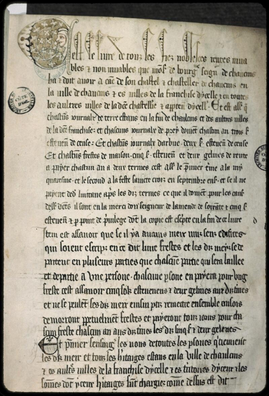 Dijon, Arch. dép., B 00993, f. 001