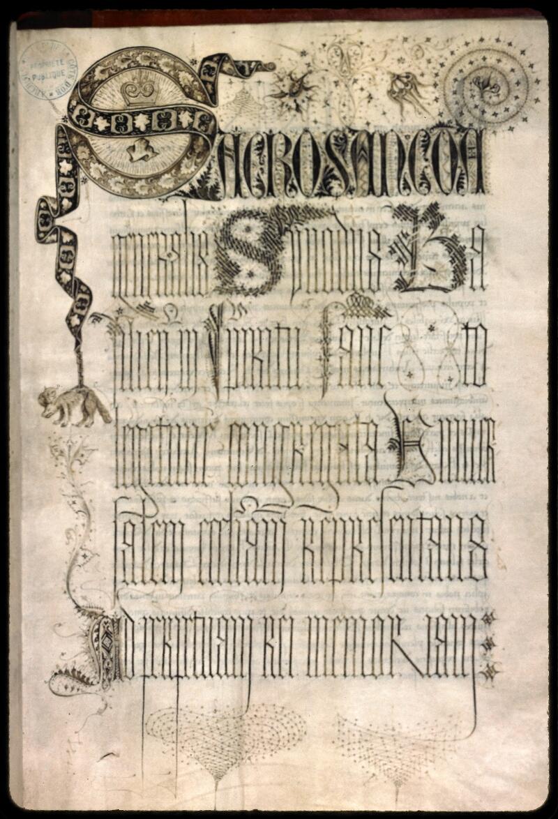 Dijon, Arch. dep., B 11616, f. 001 - vue 1