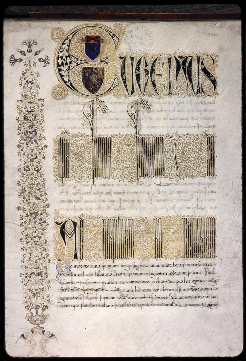 Dijon, Arch. dép., B 11617, f. 001 - vue 1