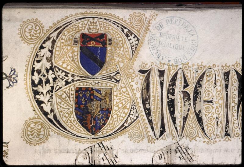 Dijon, Arch. dep., B 11617, f. 001 - vue 2
