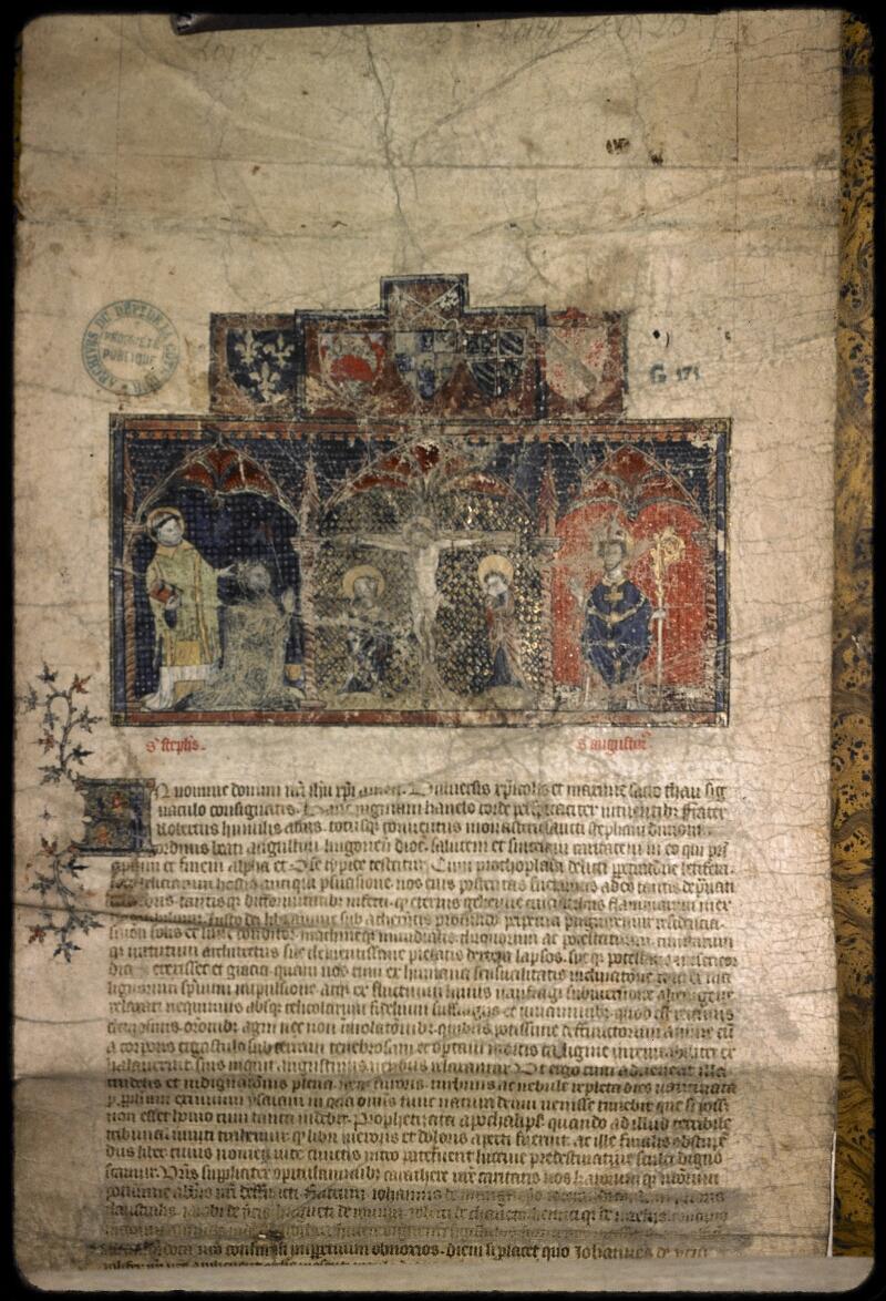 Dijon, Arch. dép., G 00171 - vue 1