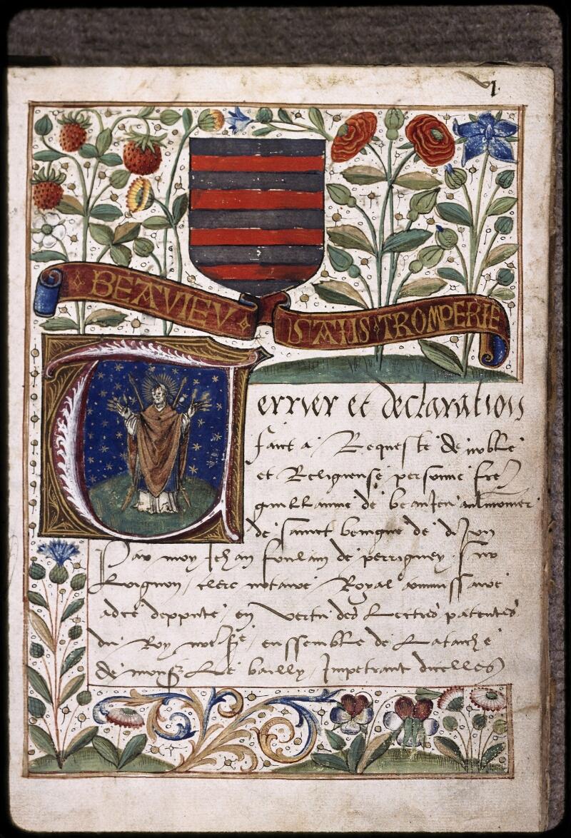 Dijon, Arch. dép., H (001) 00758, f. 001 - vue 1