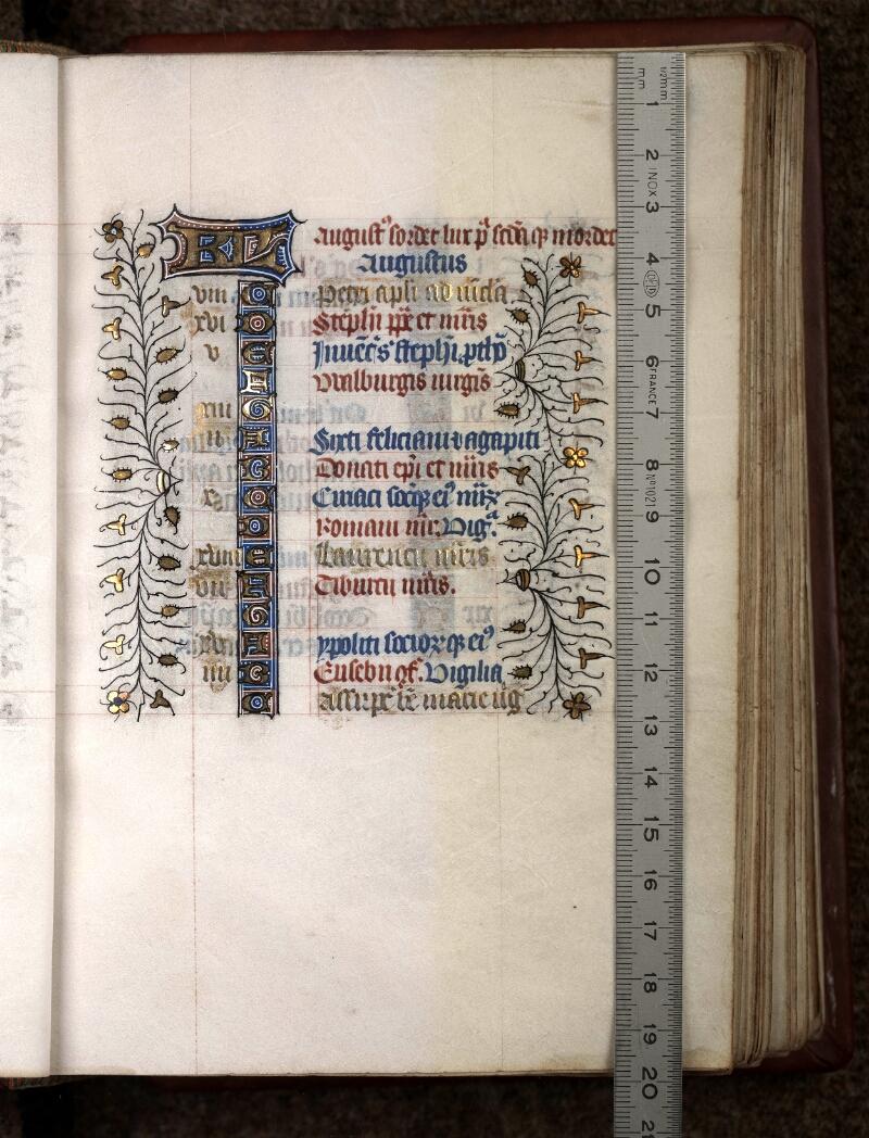 Douai, Bibliothèque municipale, ms. 0188, f. 010 - vue 1