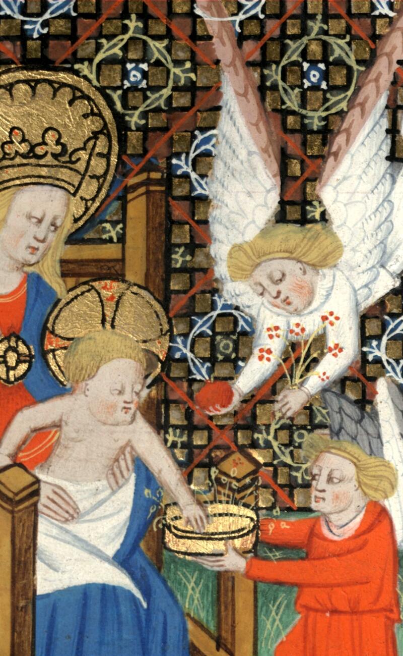 Douai, Bibliothèque municipale, ms. 0188, f. 019v - vue 2