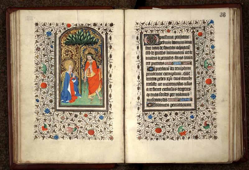 Douai, Bibliothèque municipale, ms. 0188, f. 035v-036