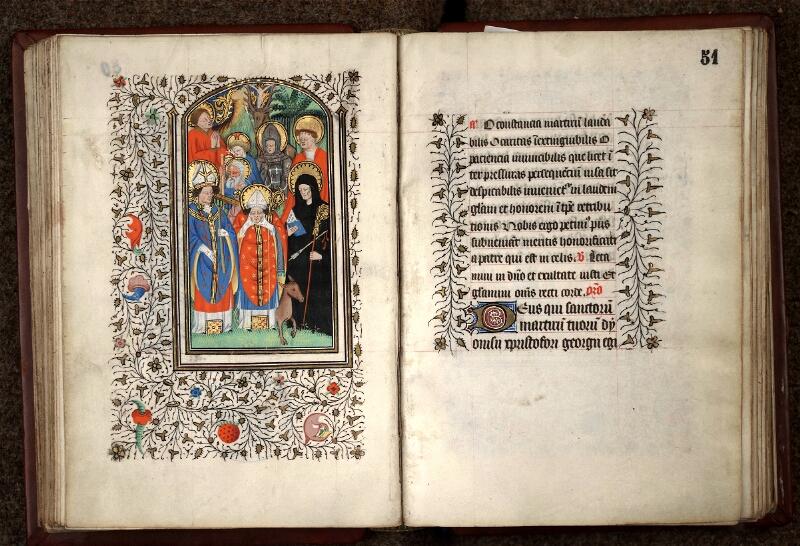 Douai, Bibliothèque municipale, ms. 0188, f. 050v-051