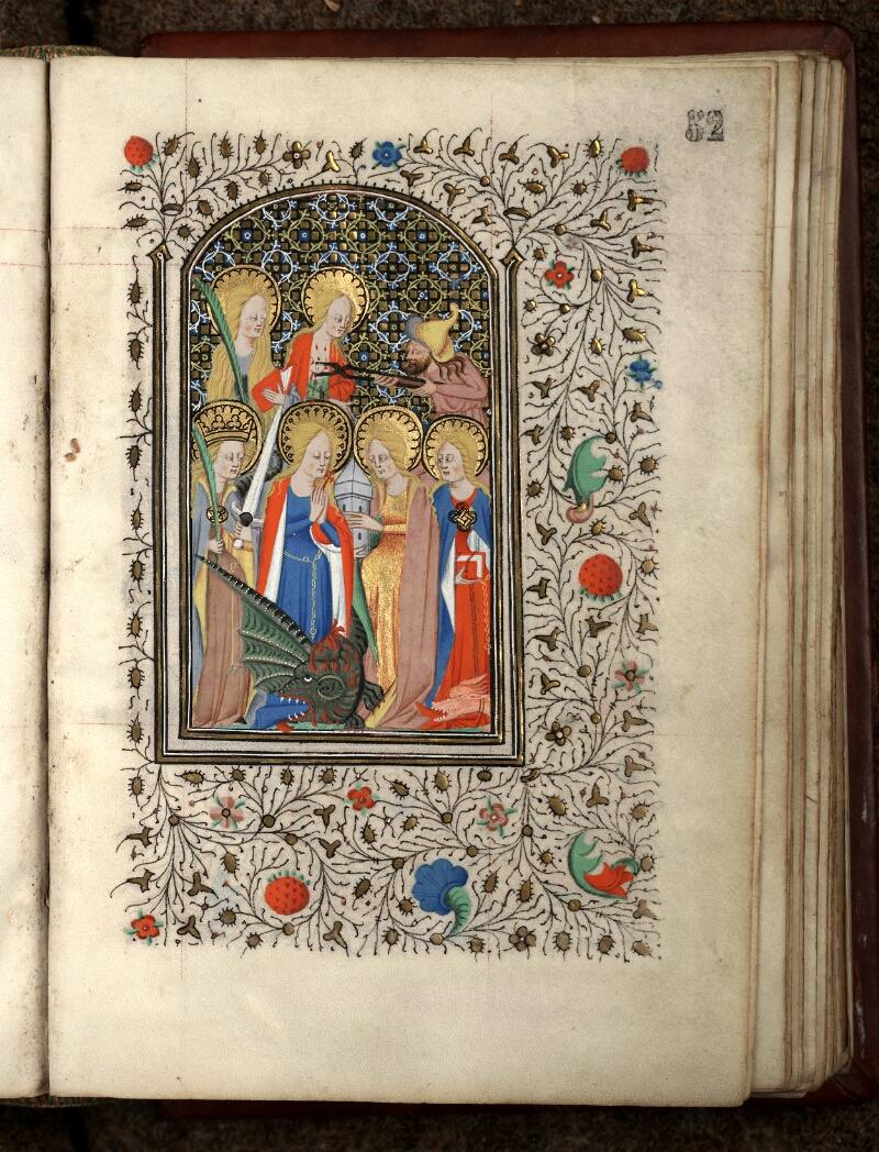 Douai, Bibliothèque municipale, ms. 0188, f. 052 - vue 1